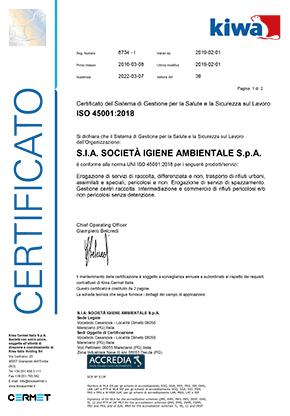 SIA-certificato-KIWA-ISO-45001