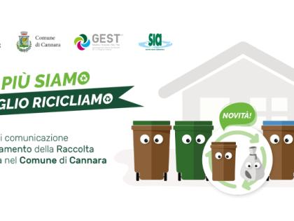 Arriva  la raccolta differenziata domiciliare a Cannara: il Comune e la SIA invitano  a partecipare alle assemblee pubbliche il 27 e  28 giugno a Collemancio e Cannara